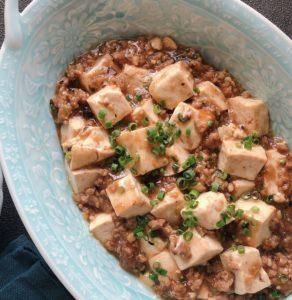 簡単!旨辛きび酢麻婆豆腐