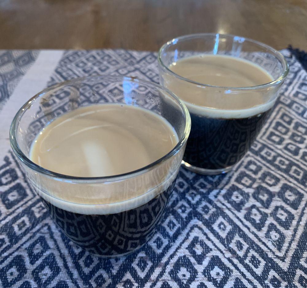 インカコーヒーのゼリー